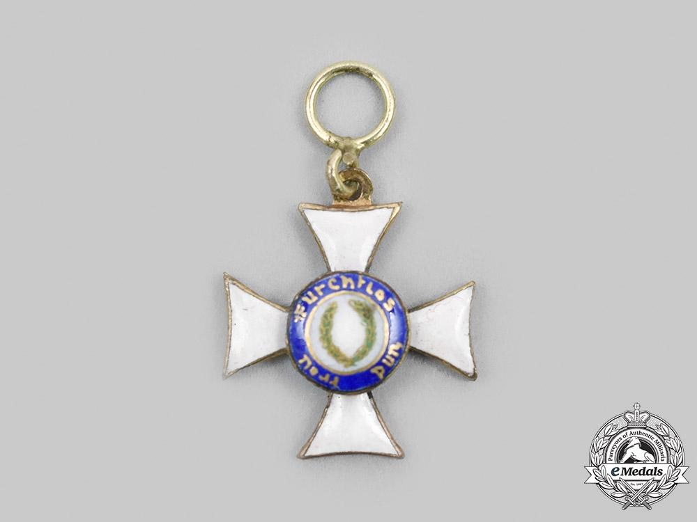 eMedals-Wurttemberg. A Military Merit Order, I Class Knight, Miniature, c.1916