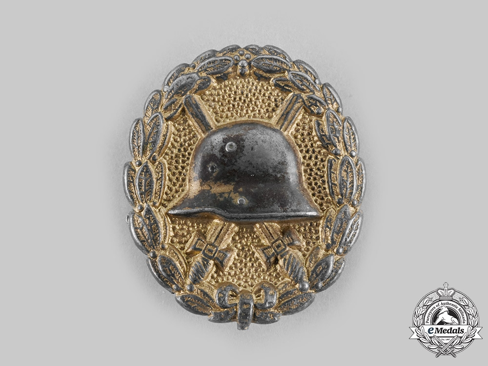 eMedals-Germany, Imperial. A Wound Badge, Gold Grade
