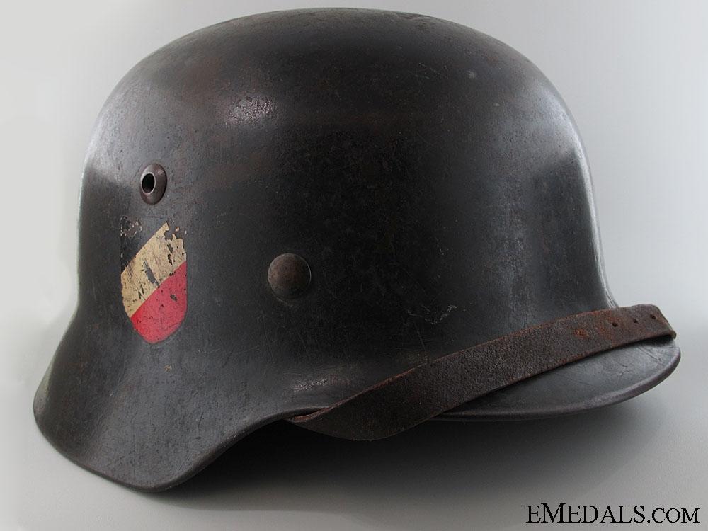 eMedals-M35 Double Decal Luftwaffe Helmet