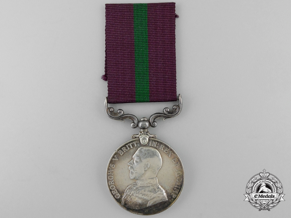 eMedals-A King's African Rifles Long Service and Good Conduct Medal