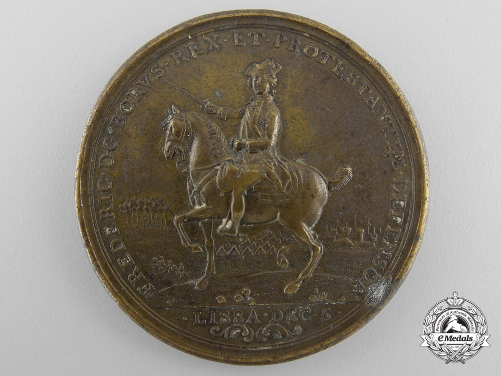 eMedals- A 1757 Frederick the Great Lissa and Rossbach Campaign Medal