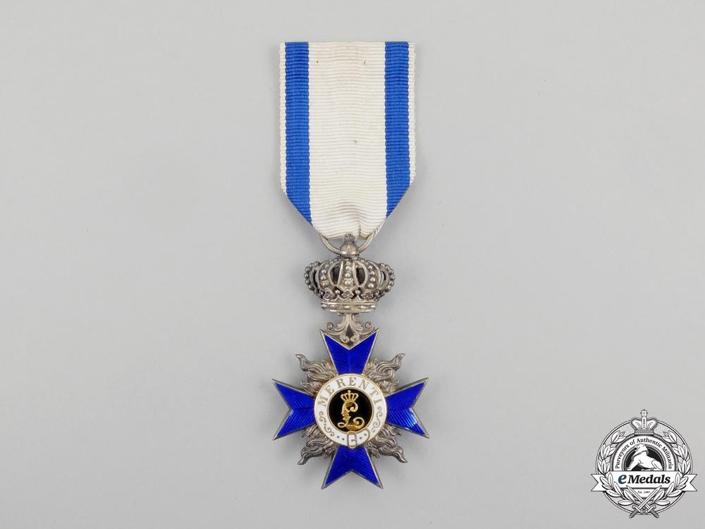 Bavaria  A Bavarian Order of Military Merit