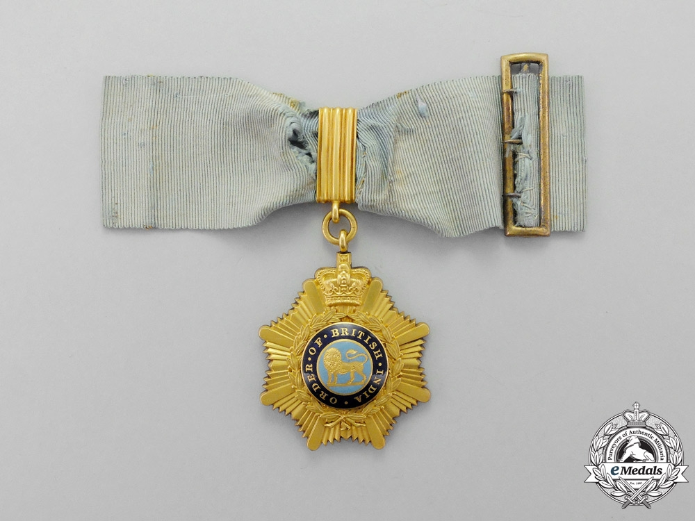eMedals-Great Britain. An Order of British India, 1st Class in Gold