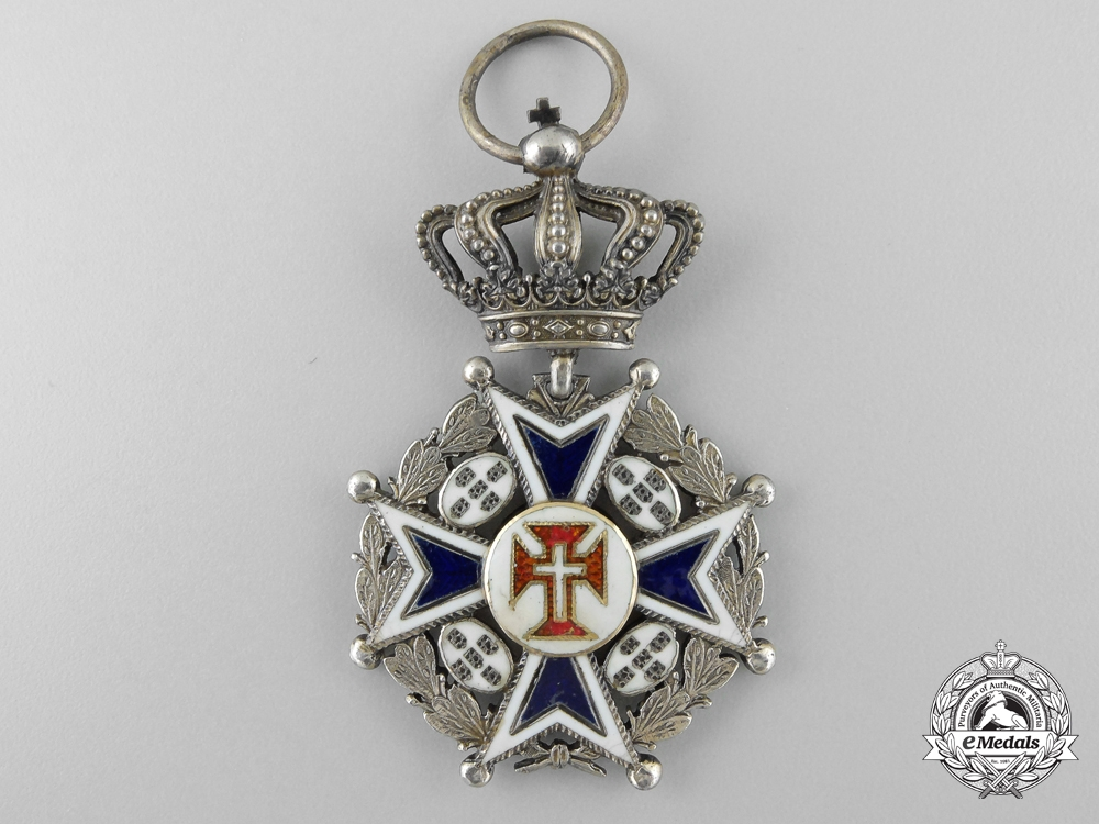 eMedals-A Portuguese Military Order of Christ; Officer's Cross