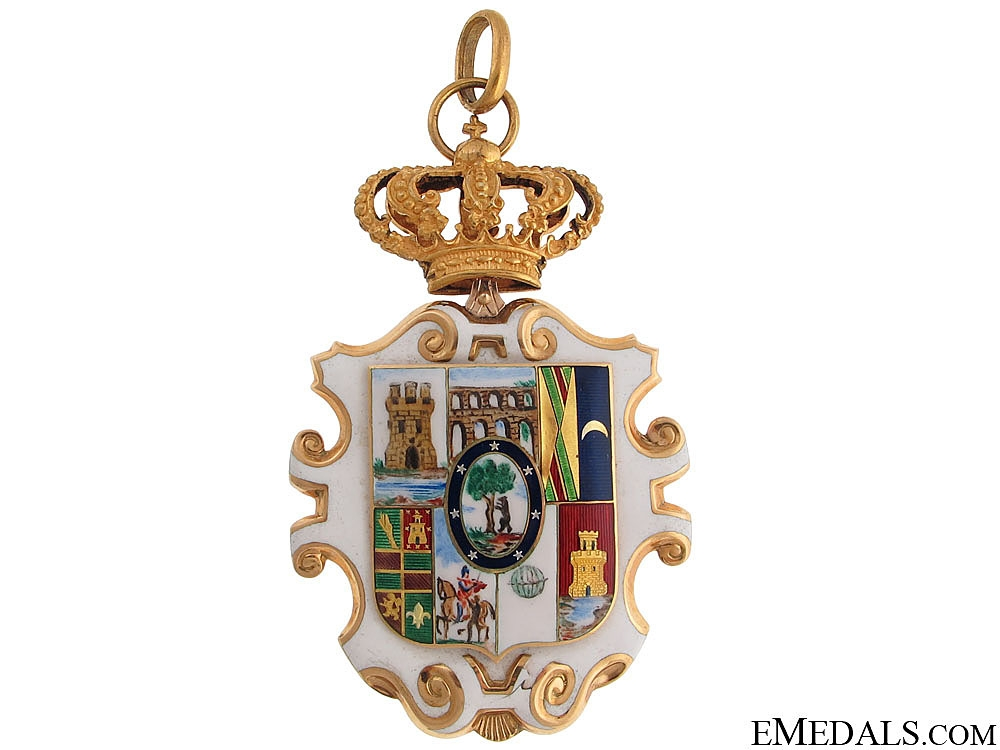 eMedals-Madrid Gold Deputy's Badge