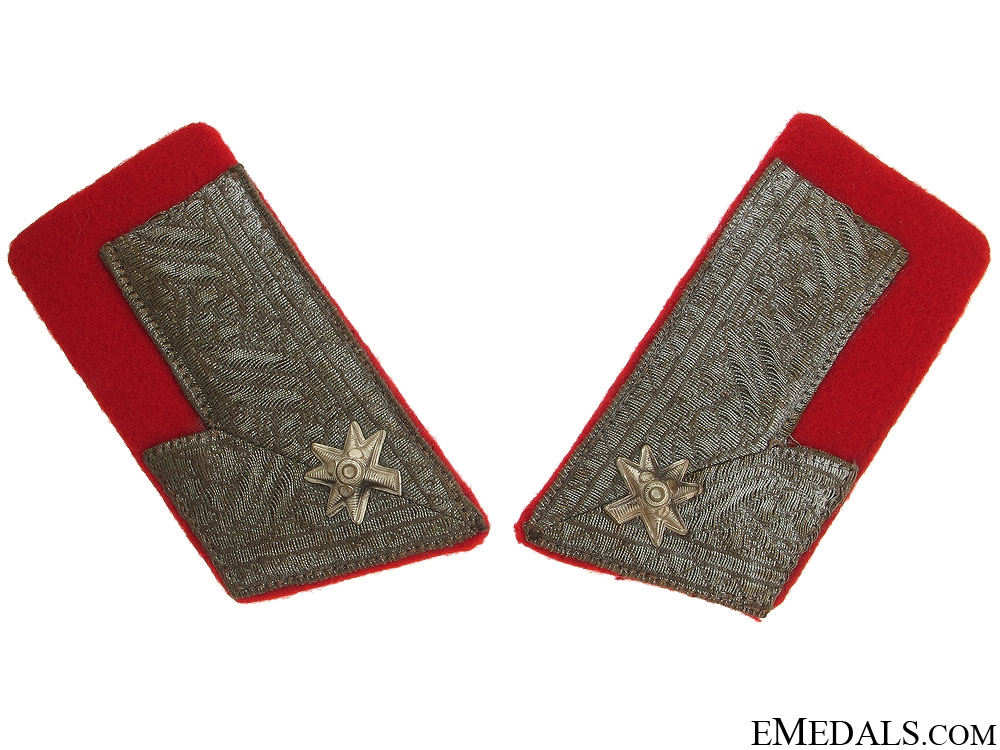 eMedals-Major of Croatian Home Army Collar Tabs