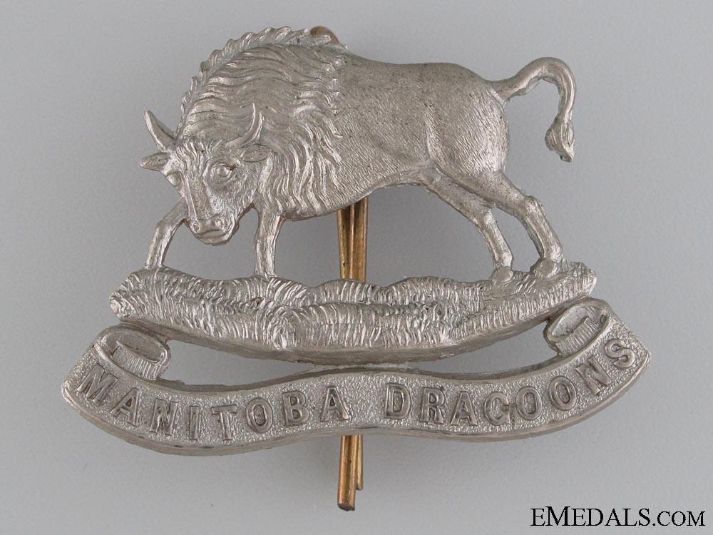 eMedals-Manitoba Dragoons Militia Cap Badge