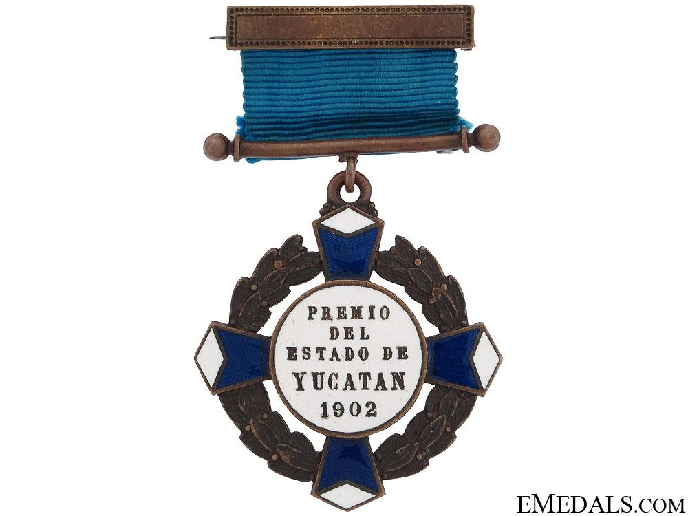 eMedals-Mayan Campaign Yucatan Cross 1902