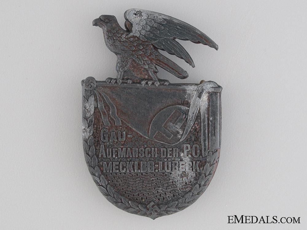eMedals-Mecklbg-Lubeck Deployment Badge