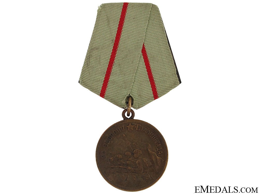 eMedals-Medal for the Defence of Stalingrad