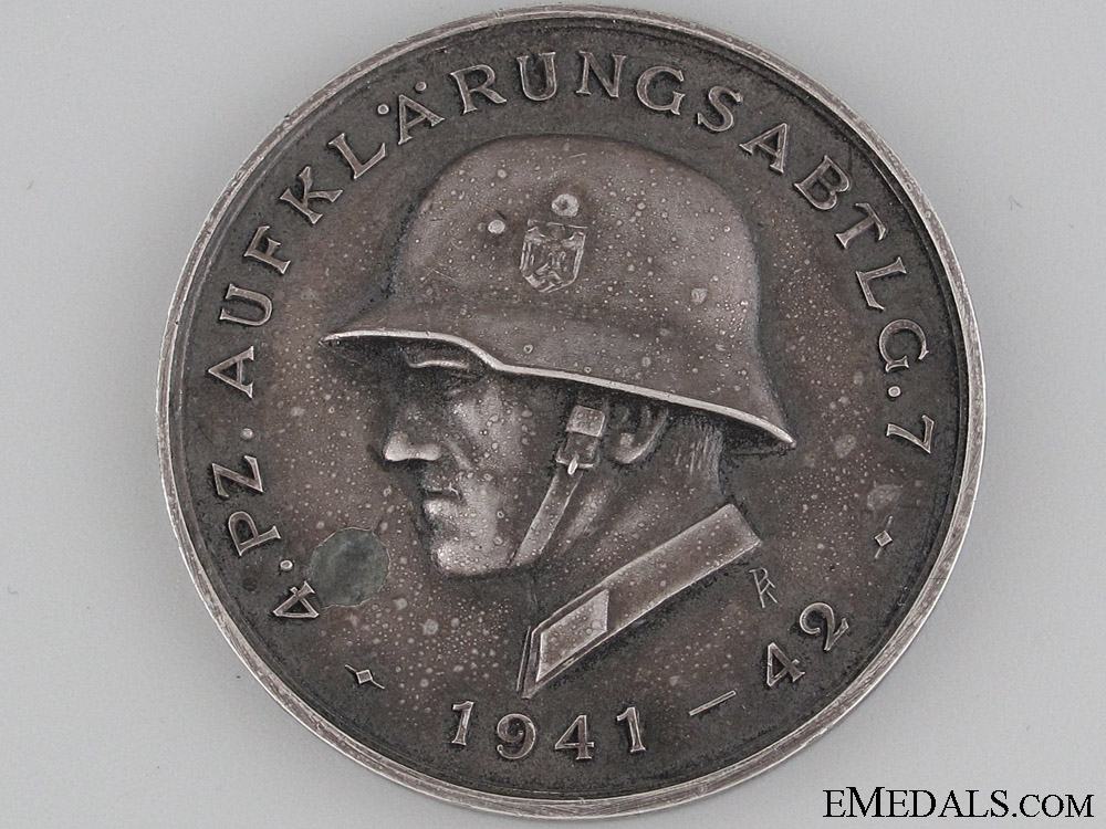 eMedals-Medal of the 4th Panzer Division 1941- 41