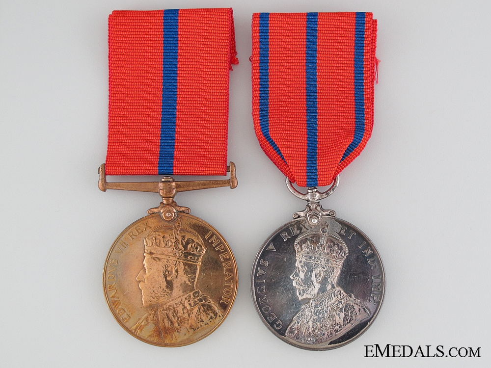 eMedals-Metropolitan Police Pair to Constable Dickinson