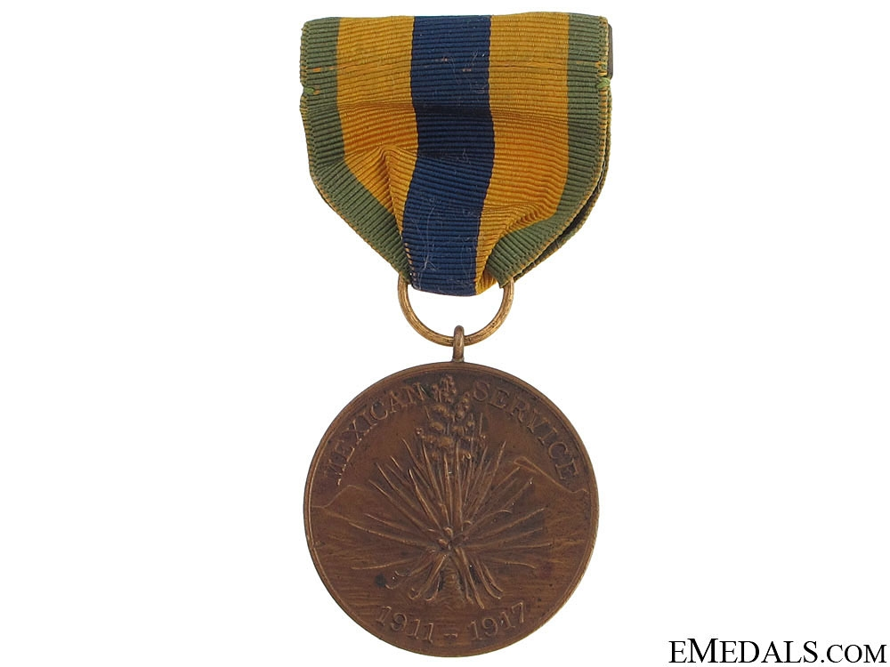 eMedals-Mexican Service Medal, 1911-1917