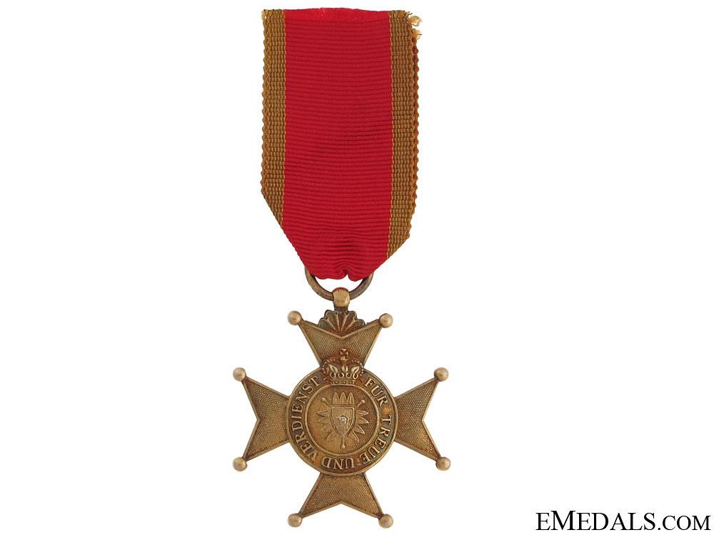 eMedals-Golden Merit Cross 1917-18