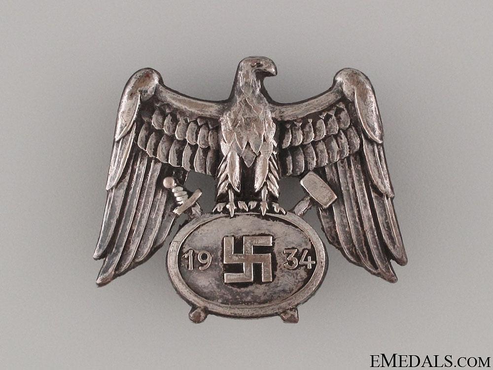 eMedals-Mine Service Cap Badge