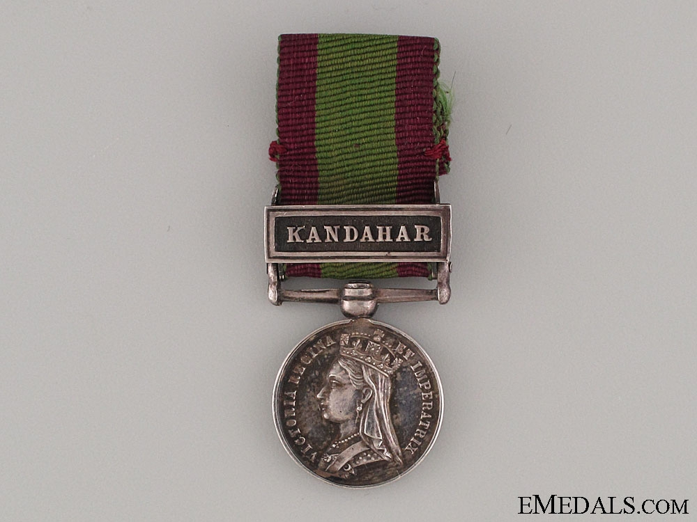 eMedals-Miniature Afghanistan Medal 1878-1880