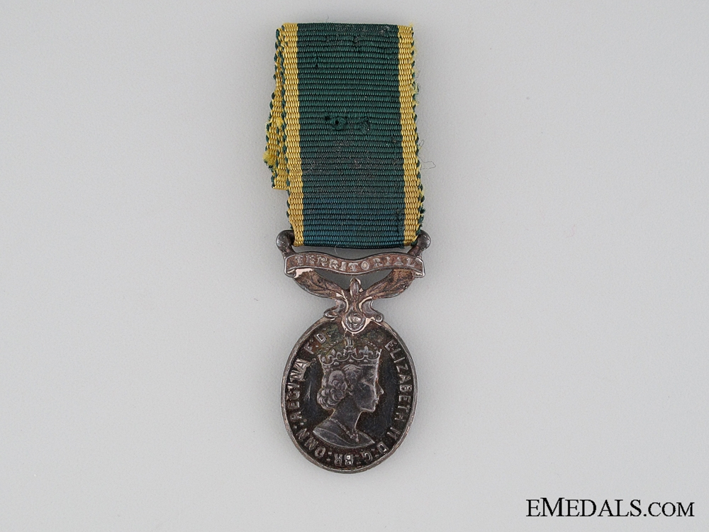 eMedals-Miniature Efficiency Medal