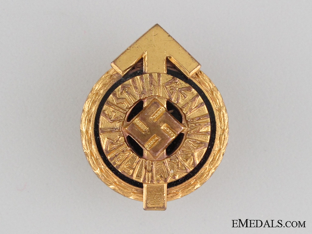 eMedals-Miniature HJ Golden Leader's Sports Badge