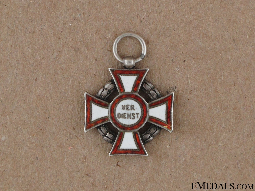 eMedals-Miniature Military Merit Cross