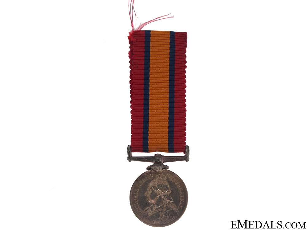 eMedals-Miniature Queen's South Africa Medal