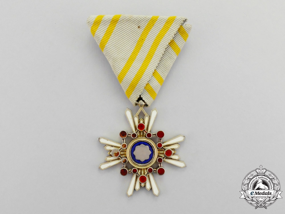 eMedals-Japan. An Order of the Sacred Treasure, 5th Class