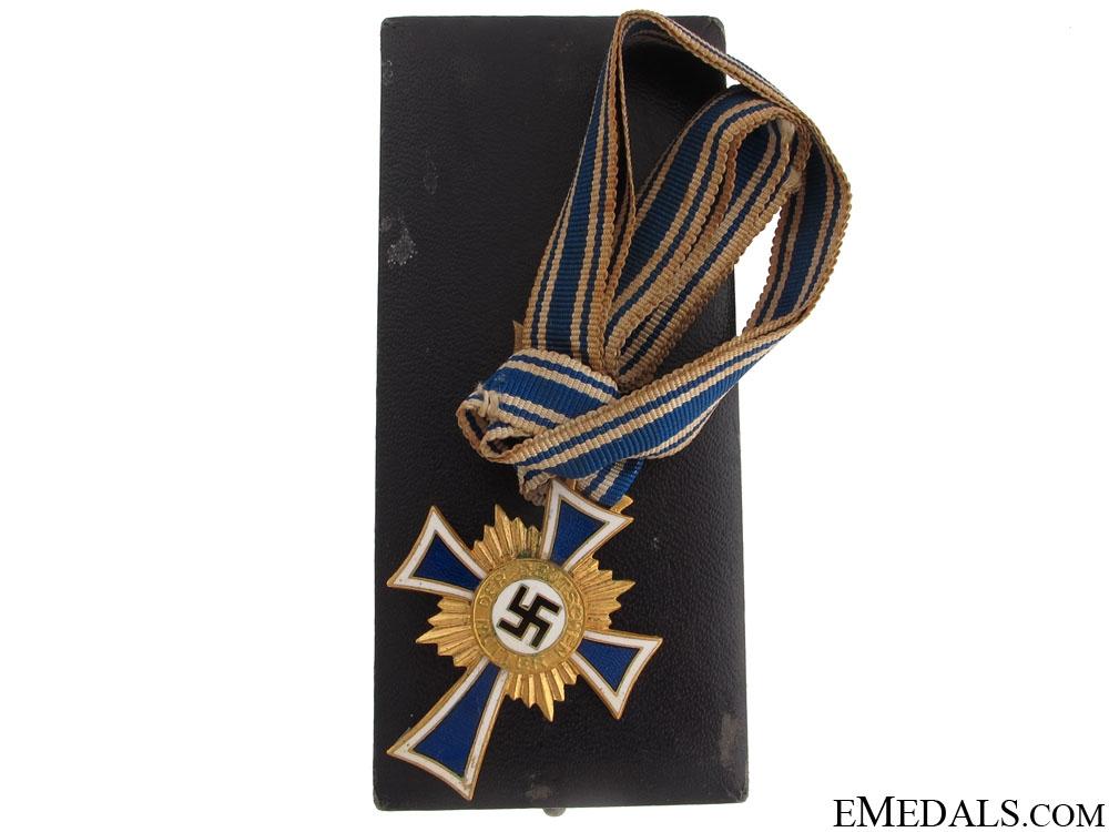 "eMedals-Mother""¢¯s Cross - Gold Grade"