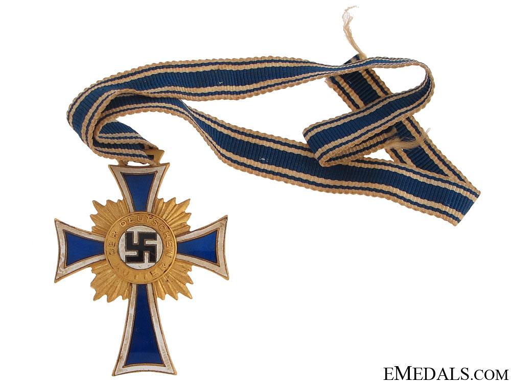 eMedals-Mother's Cross - Gold Grade