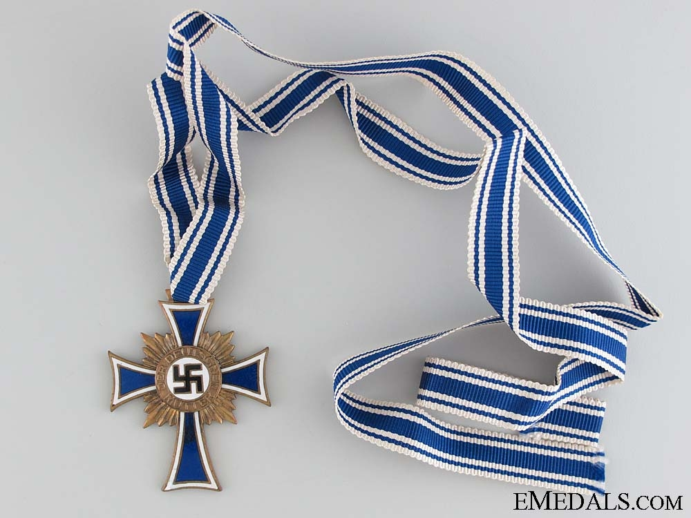 eMedals-Mother's Cross; Bronze Grade