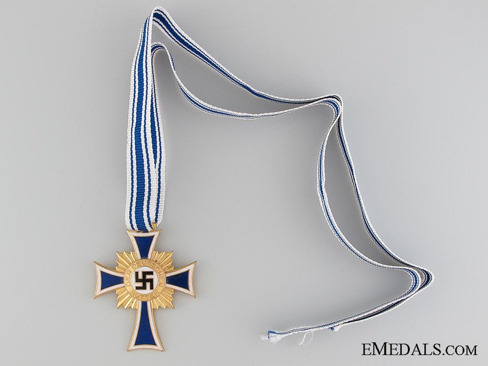 eMedals-Mother's Cross; Gold Grade