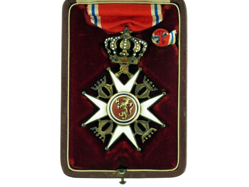 eMedals-The Royal Norwegian Order of St. Olav
