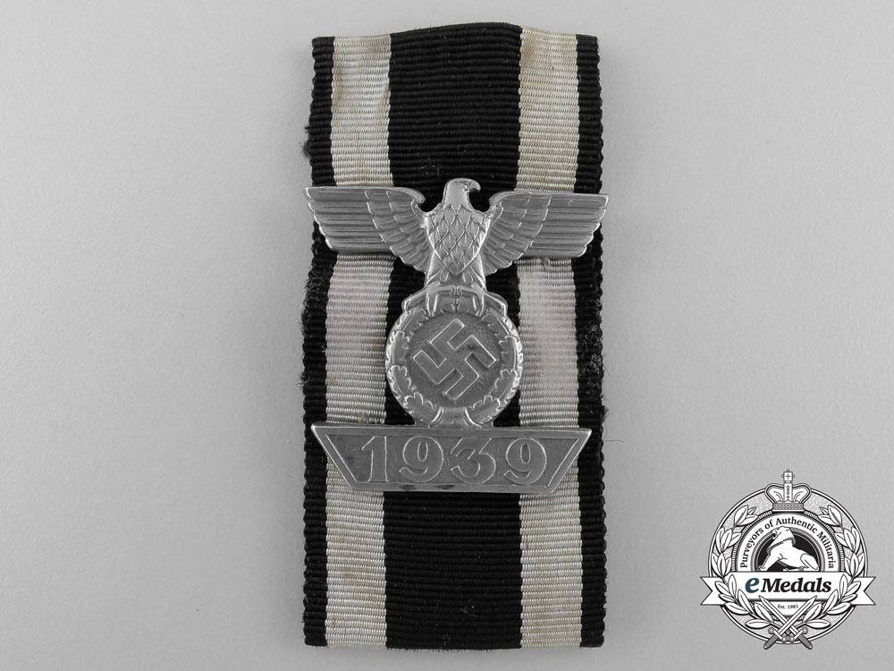eMedals-A Clasp to Iron Cross 2nd Class 1939