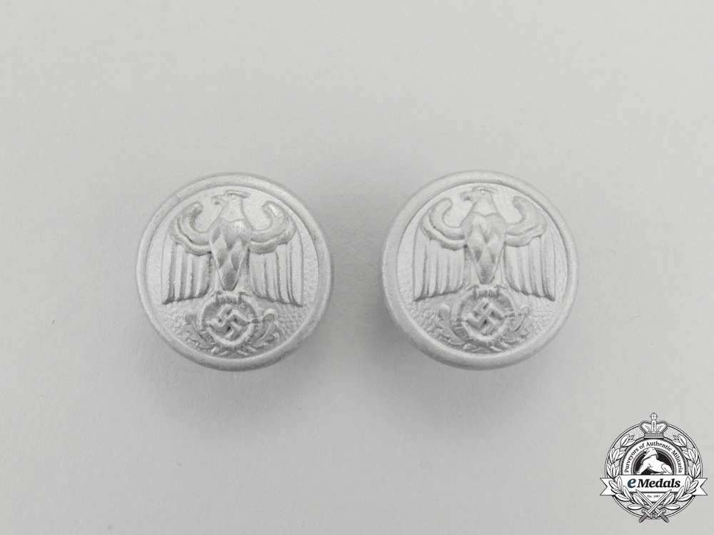 eMedals-A Pair of NSDAP Diplomatic Official's Shoulder Boards Buttons