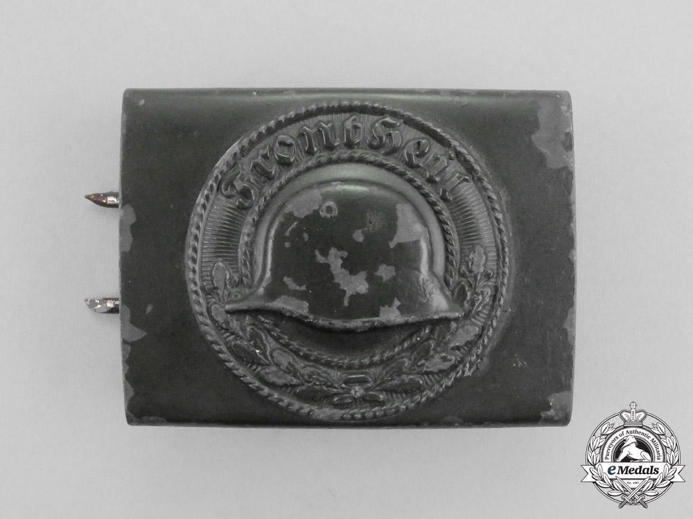 eMedals-A Front Heil Veteran's Organization Standard Issue Belt Buckle