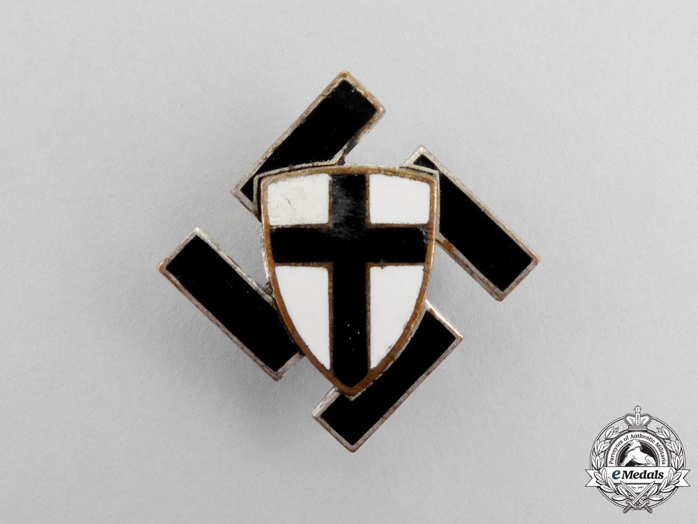 eMedals-Prussia. An East Prussia RAD Traditions Badge by Paulmann & Crone of Lüdenscheid