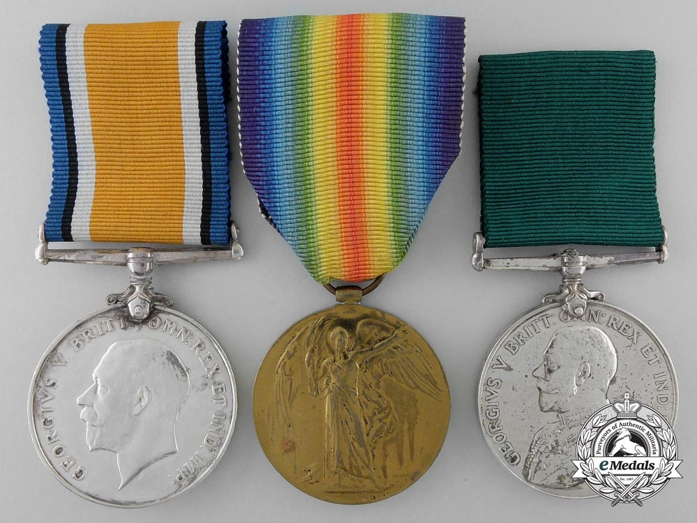 eMedals-A First War Group to Lieutenant William R. Taylor; Queen's Own Rifles of Canada