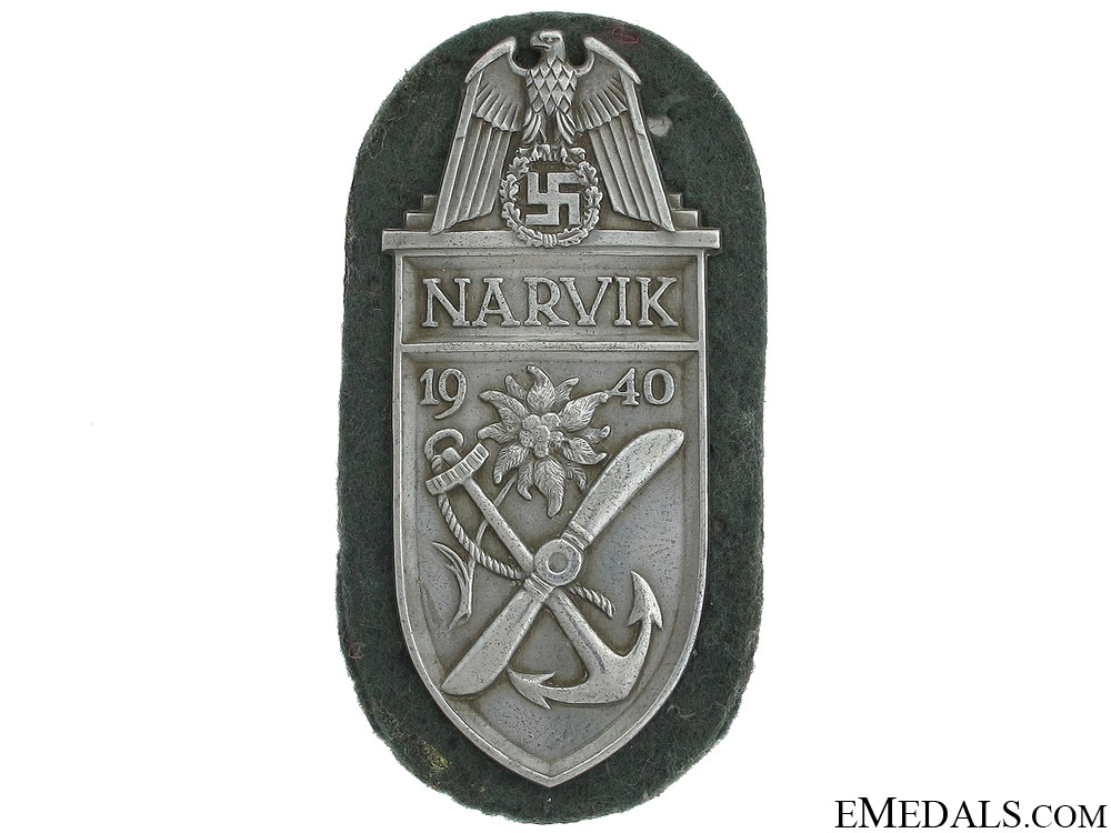 eMedals-Narvik Shield – Silver Grade
