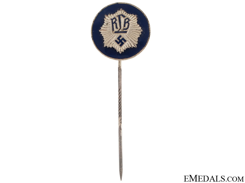 "eMedals-National Air Raid Protection Union ""Luftschutz"" Officer's Stickpin"