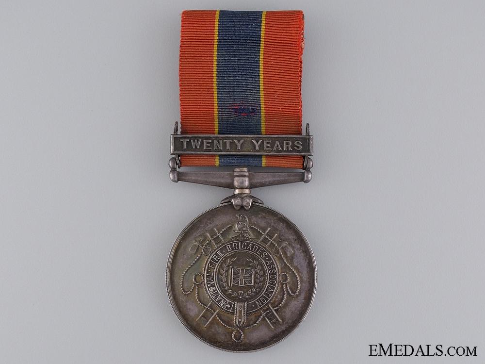 eMedals-National Fire Brigades Association Long Service Medal