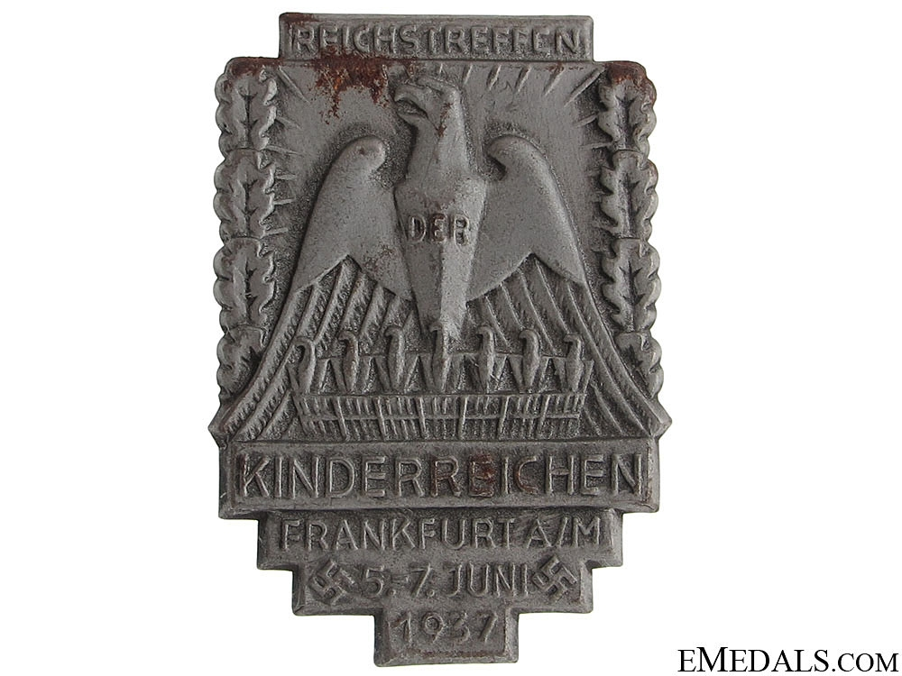 eMedals-National Large Families Convention 1937 Tinnie