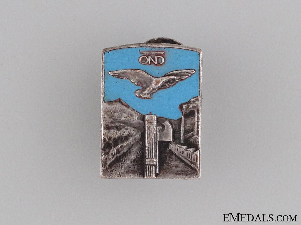 eMedals-National Recreational Club (OND) Badge