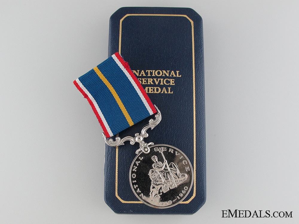 eMedals-National Service Medal