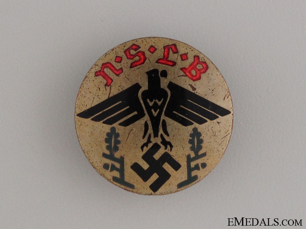 eMedals-National Socialist Teachers League Badge