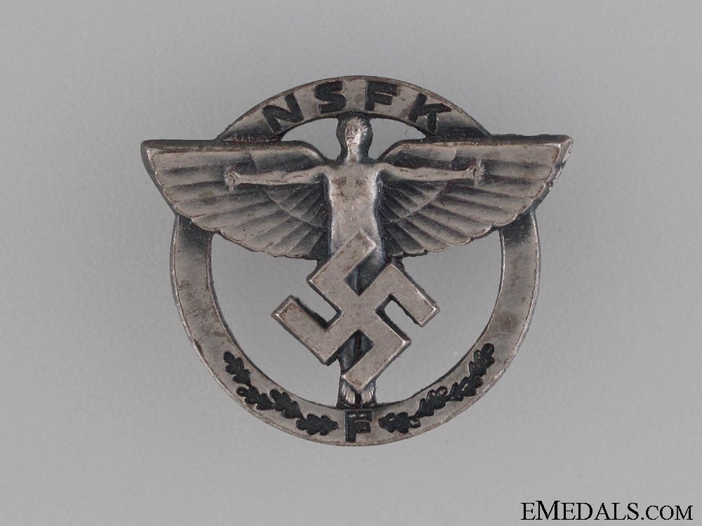 eMedals-National Socialist Flyers Corps Membership Badge