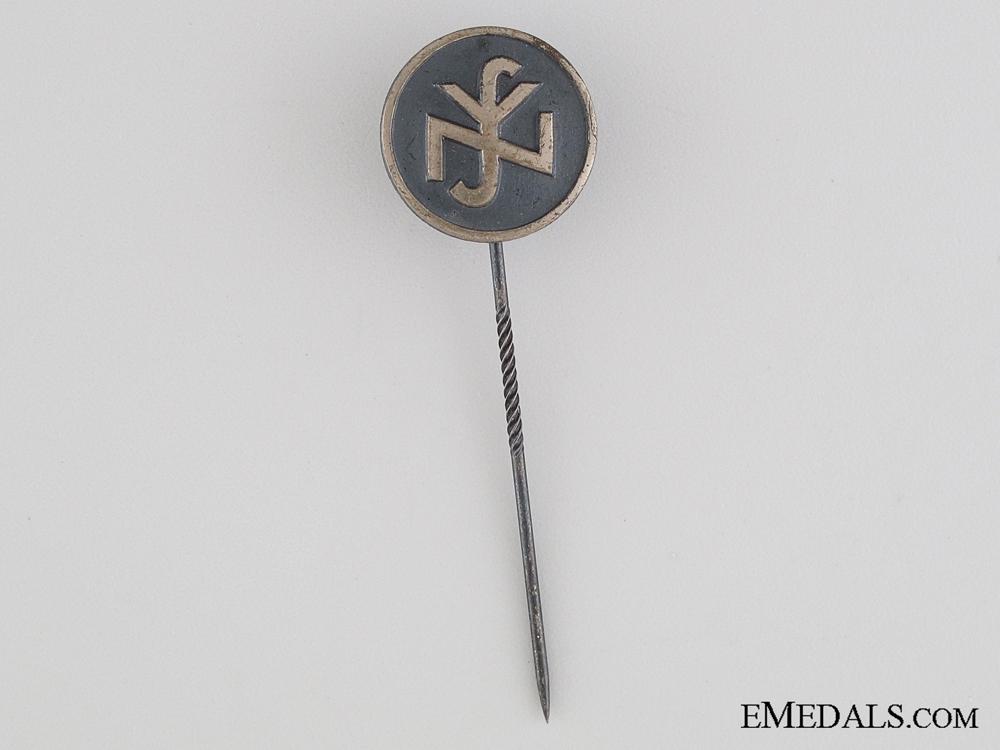 eMedals-National Socialist People's Welfare Stickpin