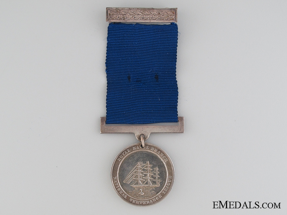 eMedals-National Temperance League Royal Naval Medal