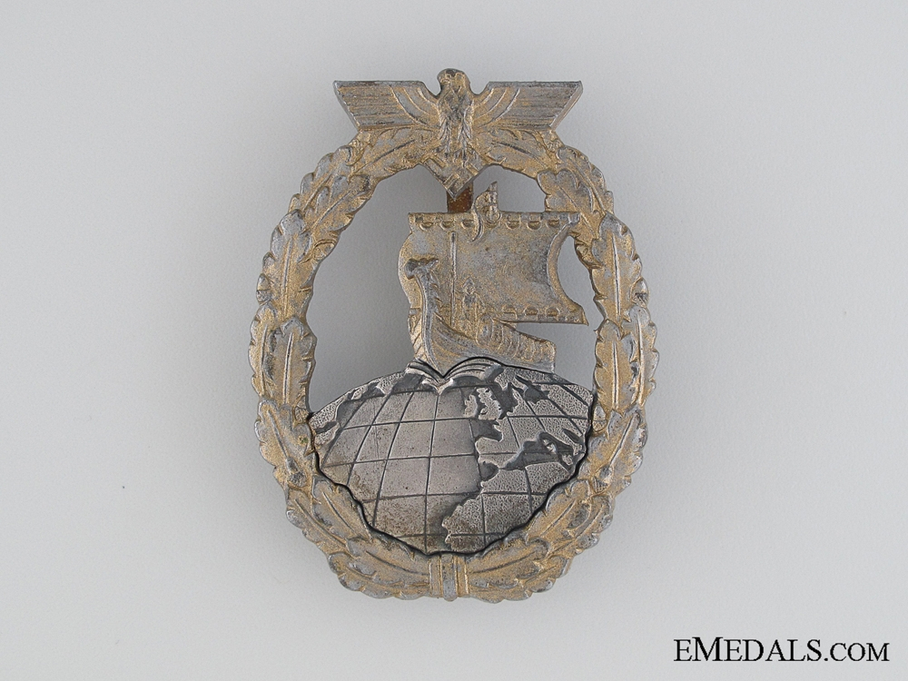 eMedals-Naval Auxiliary Cruiser War Badge, Foerster & Barth