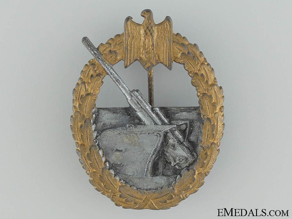 eMedals-Naval Coastal Artillery War Badge