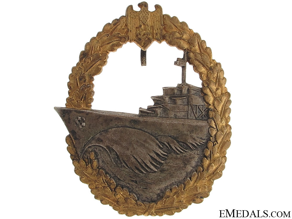 eMedals-Naval Destroyer War Badge