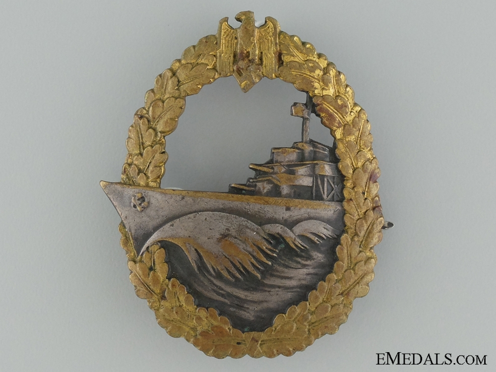 eMedals-Naval Destroyer War Badge by Schwerin