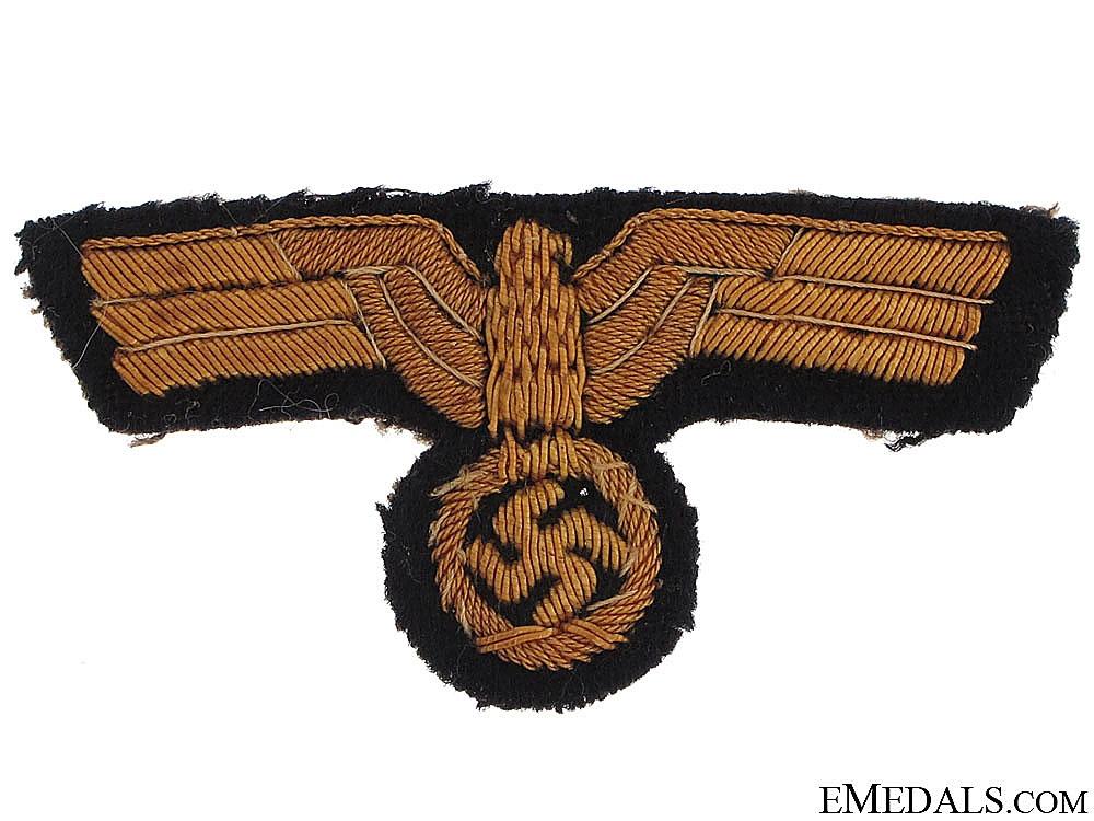 eMedals-Naval Peaked Cap Eagle